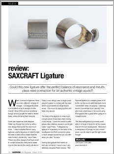 review saxophone ligature